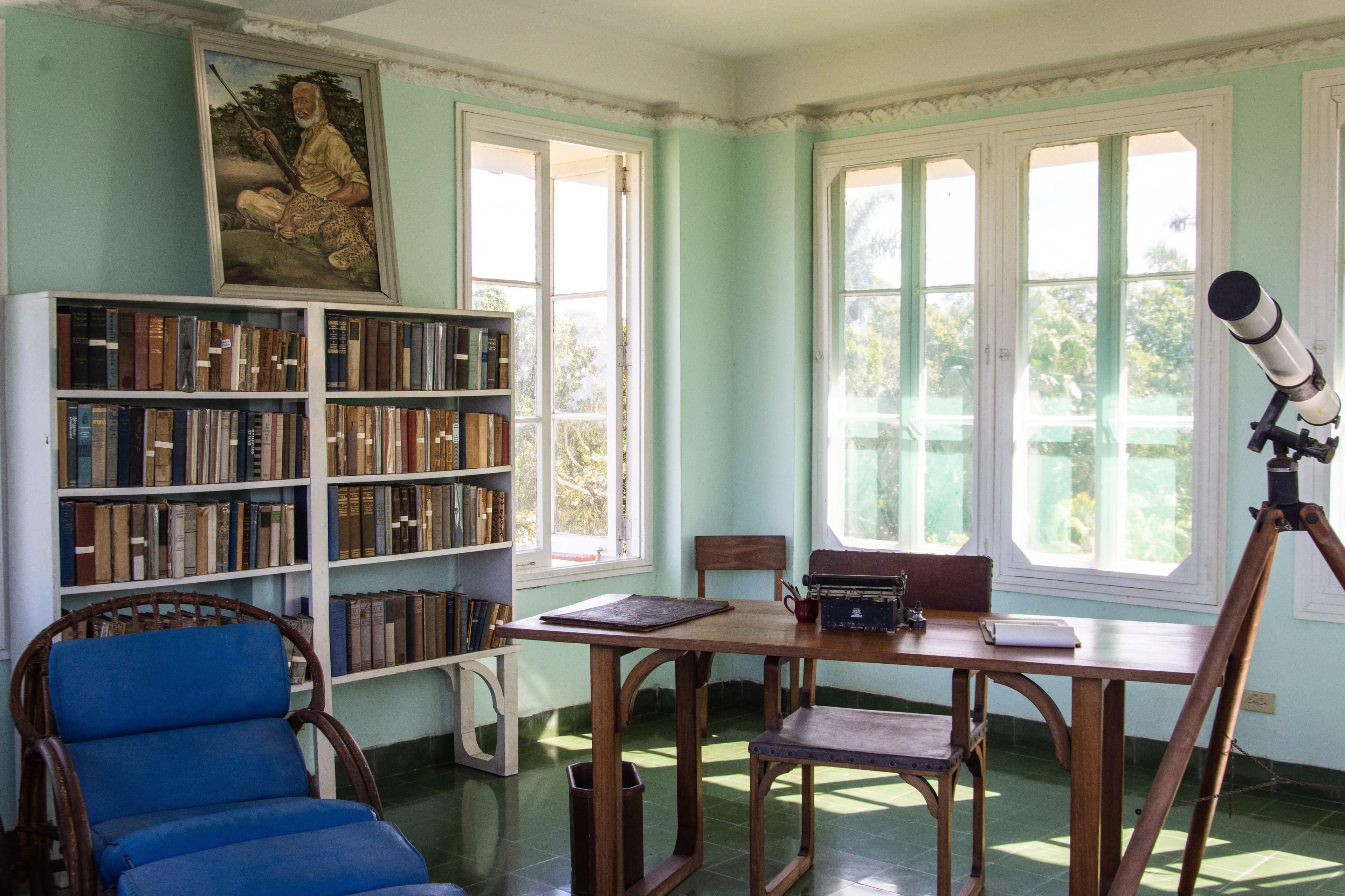 Zimmer im Hemingway Museum in Havanna, Kuba