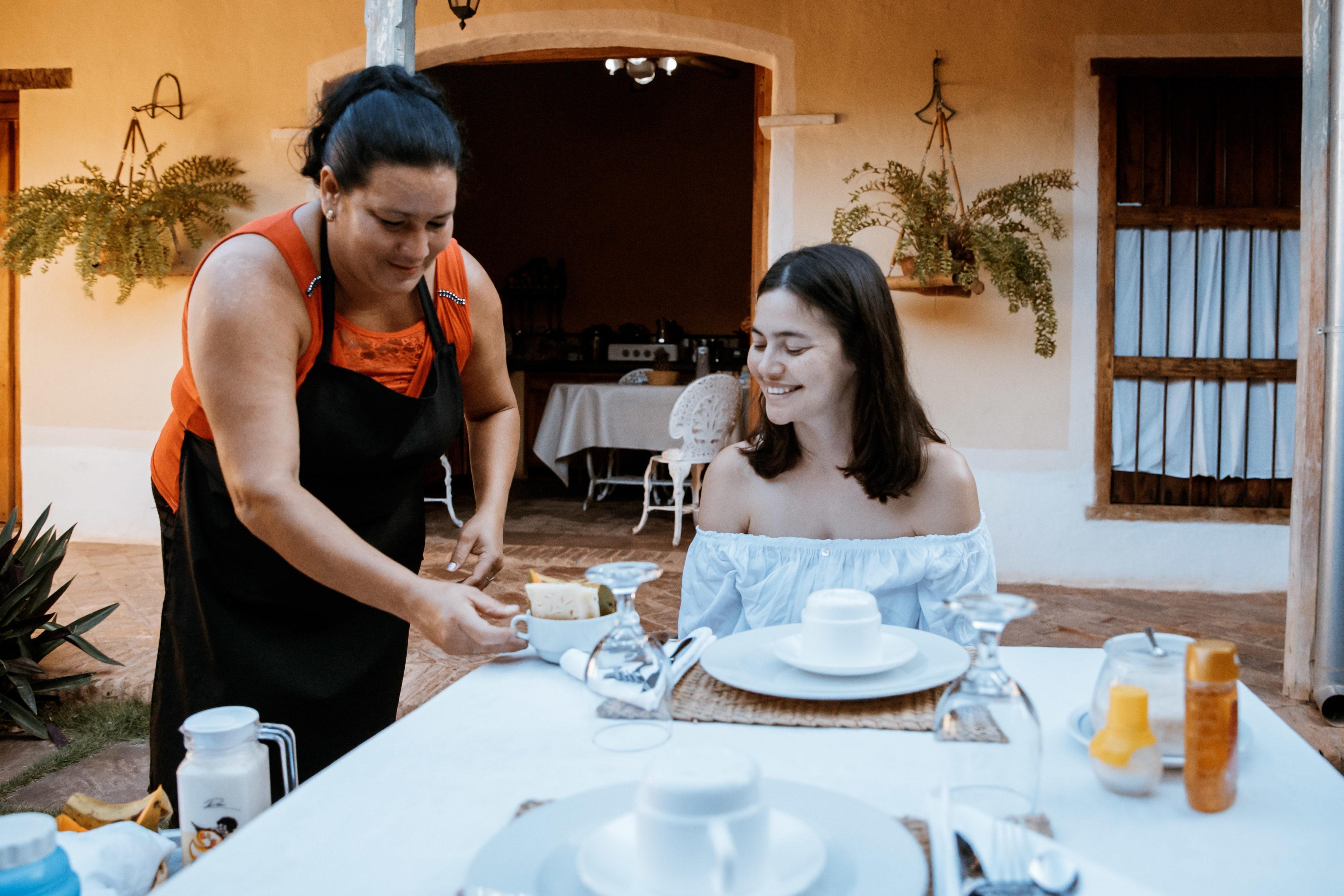 Nähert Euch der kubanischen Bevölkerung, indem Ihr in Casas Particulares übernachtet