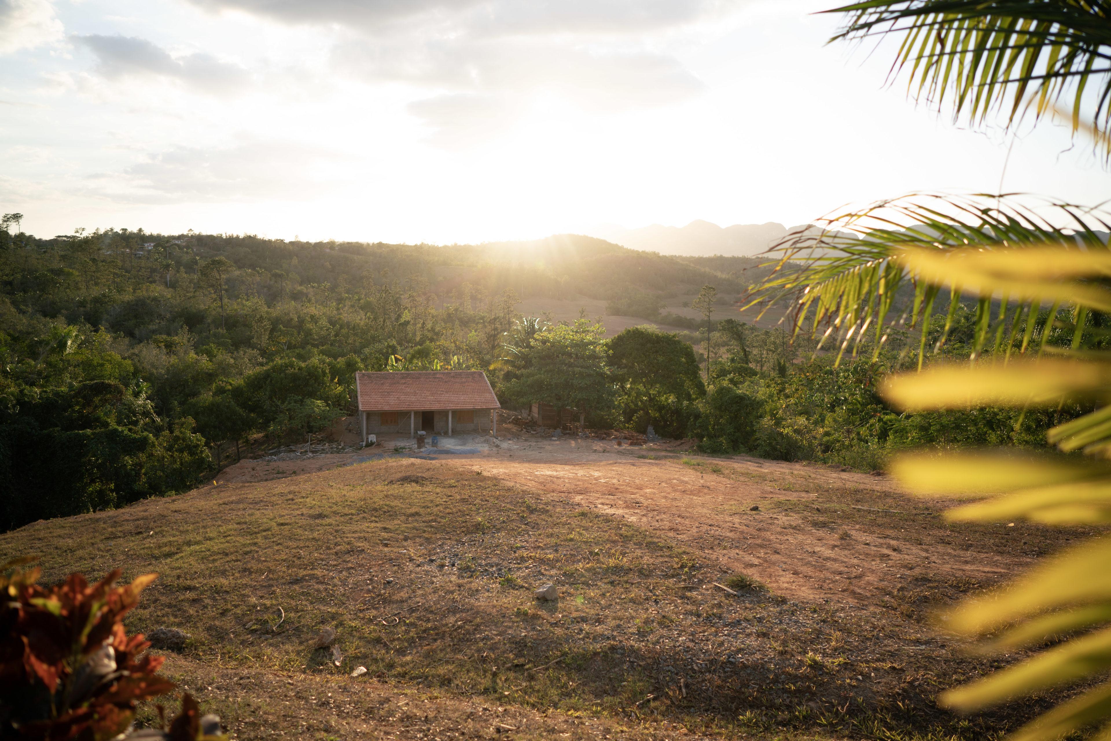 Ländliche Landschaft in Viñales