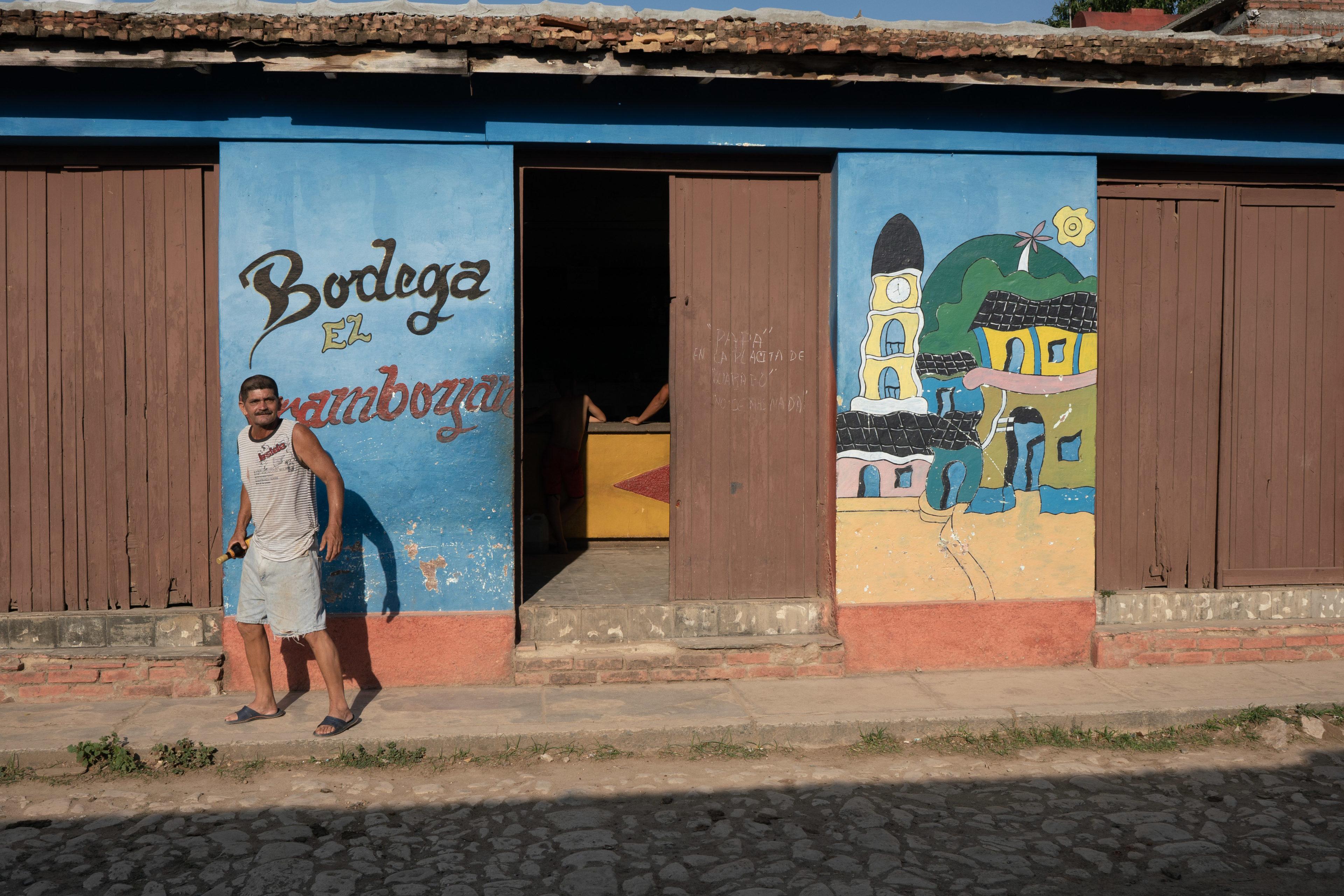 Bodega in Kuba