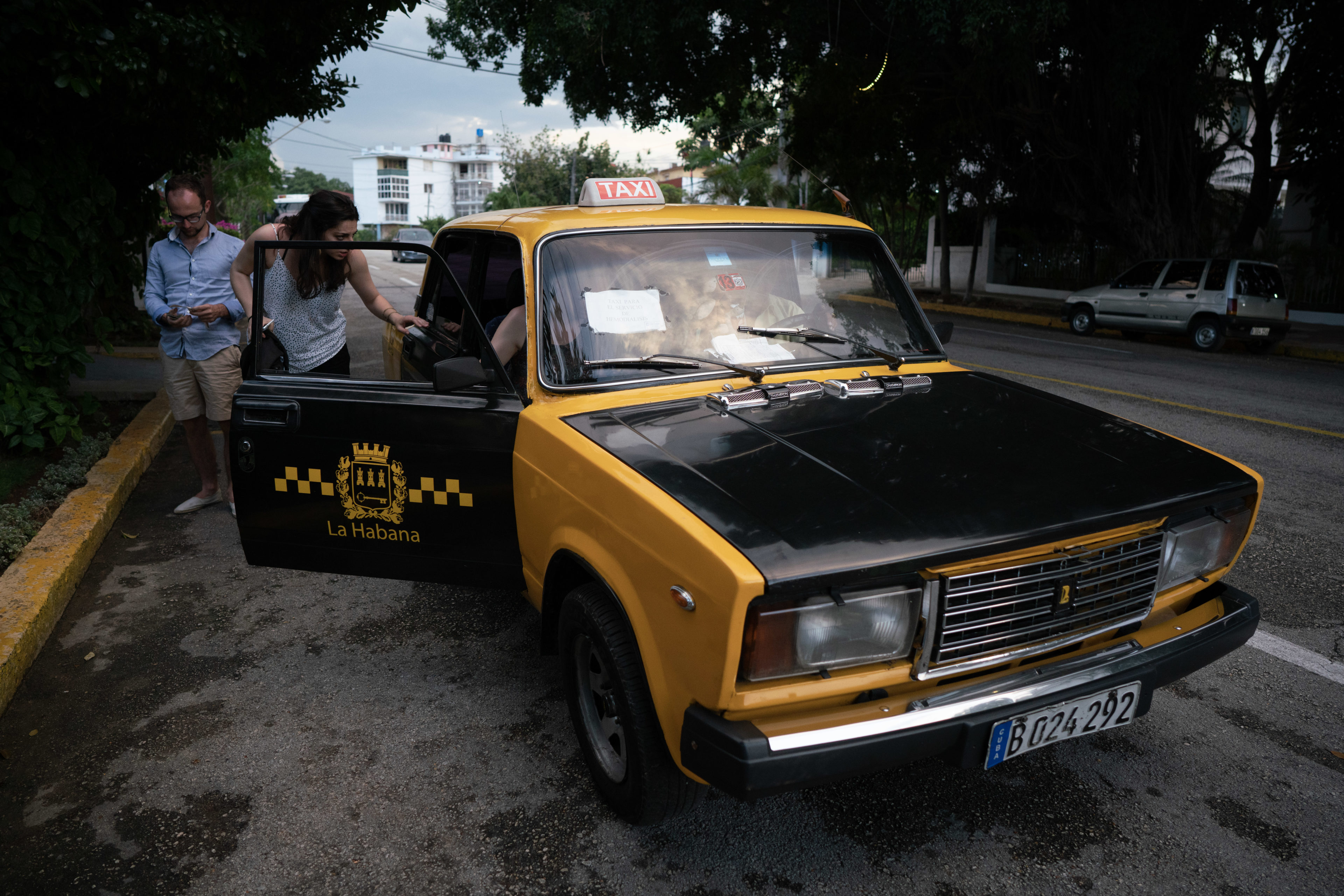 Taxifahren auf Kuba