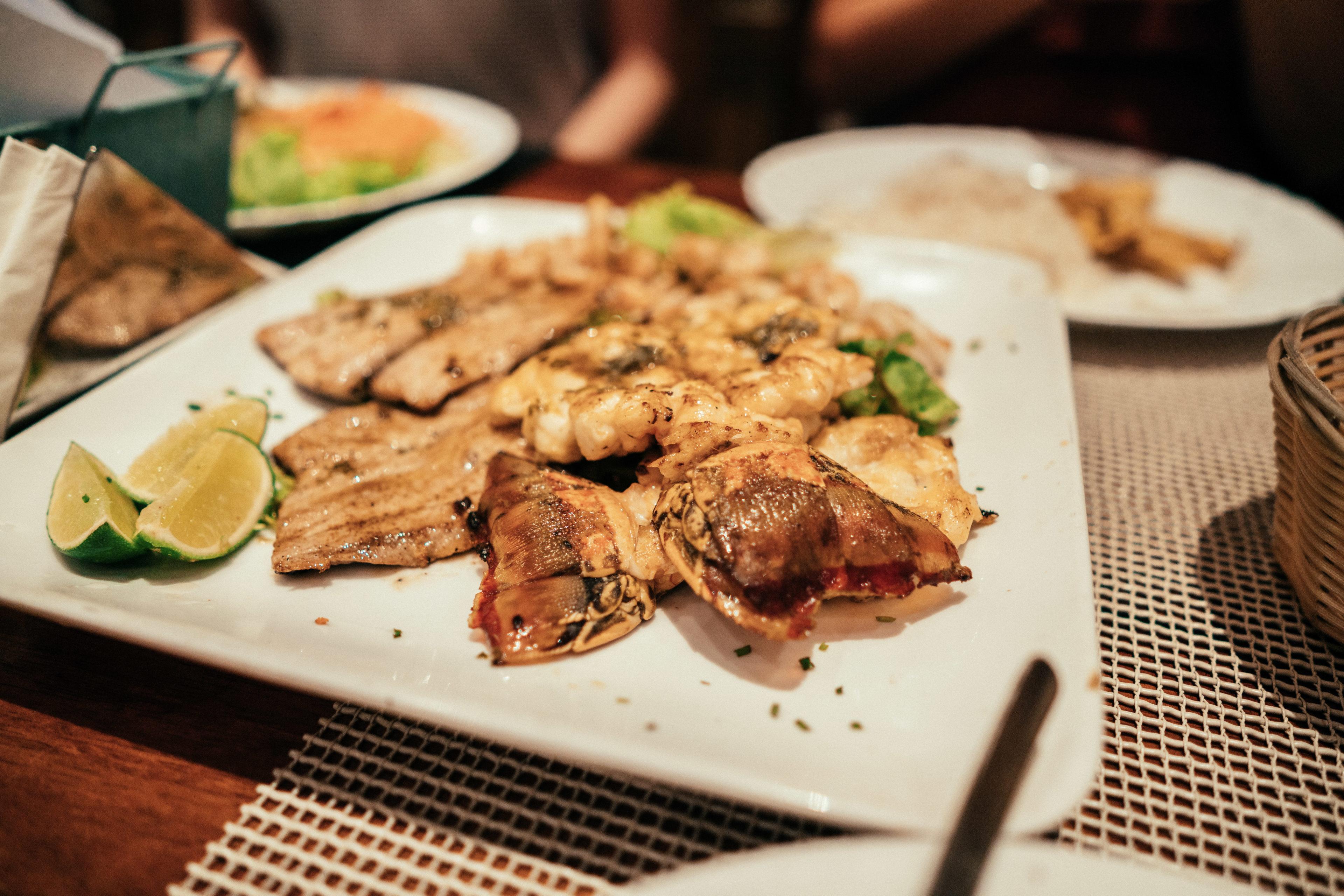 Gericht in kubanischen Restaurant