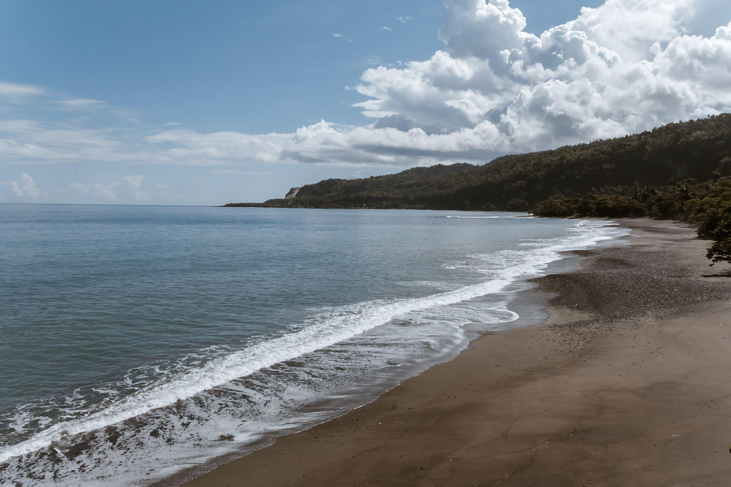 Die Strände in Baracoa haben dunkleren Sand