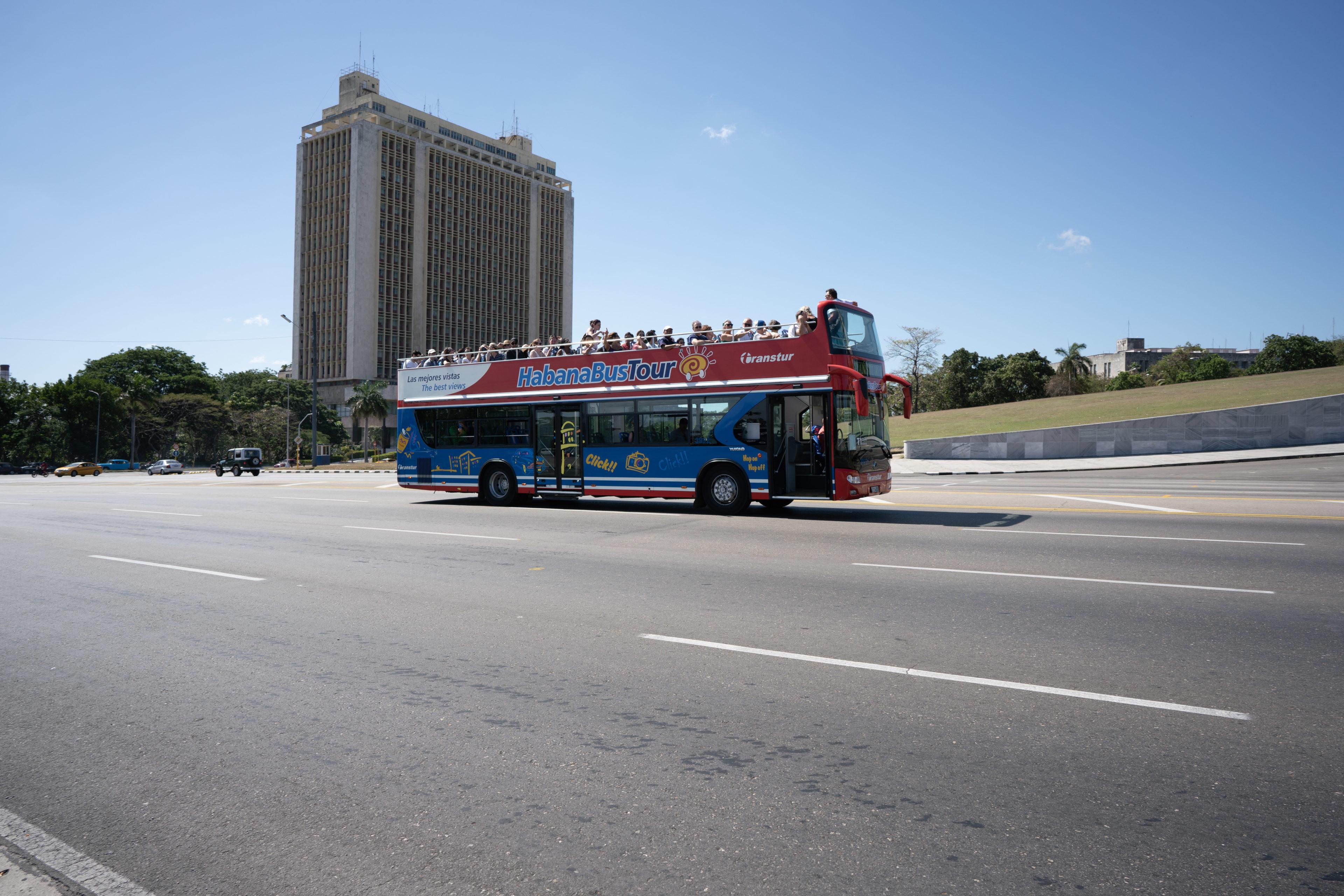 Hop on Hop Off Bus in Havanna