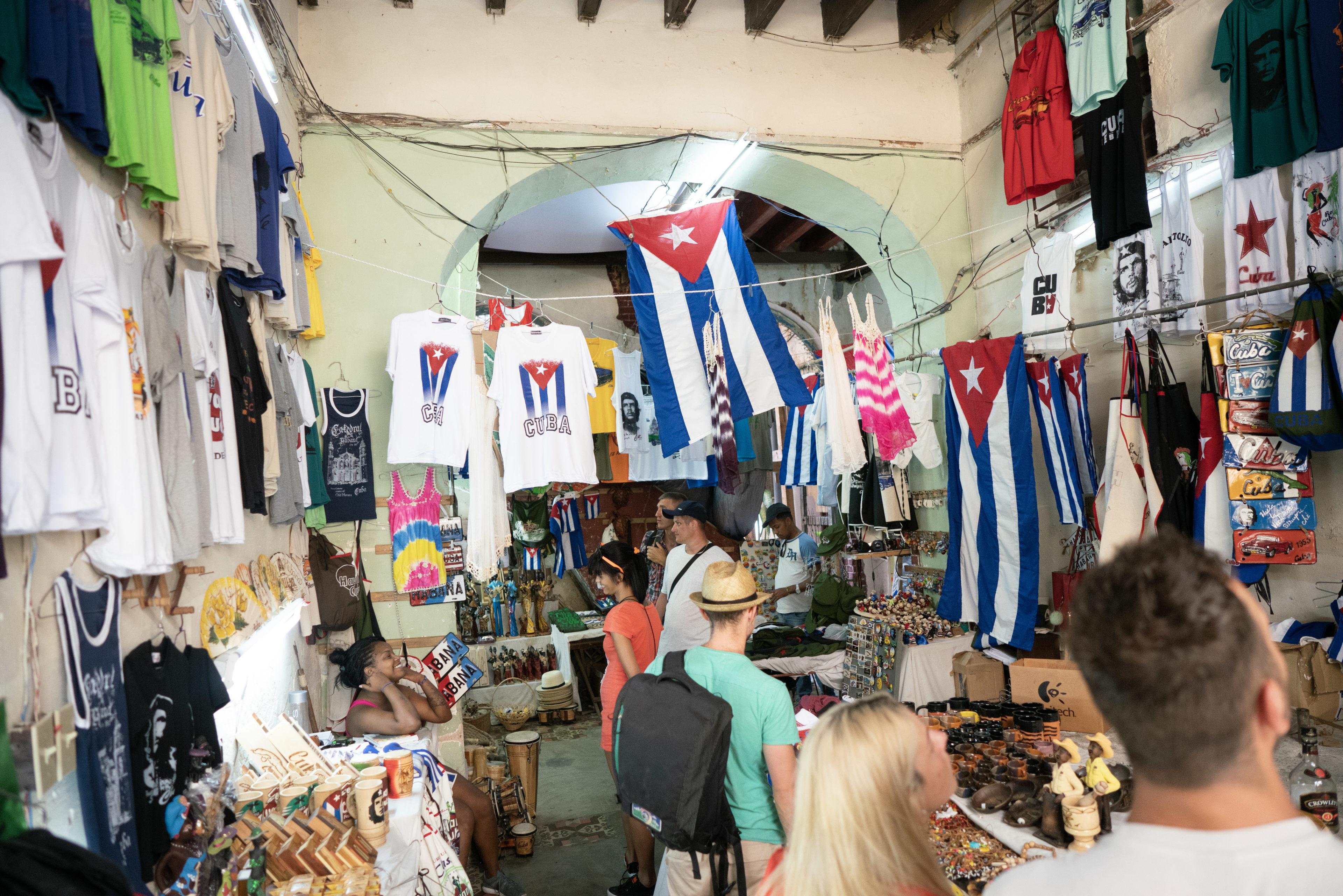 Souvenirladen in Kuba