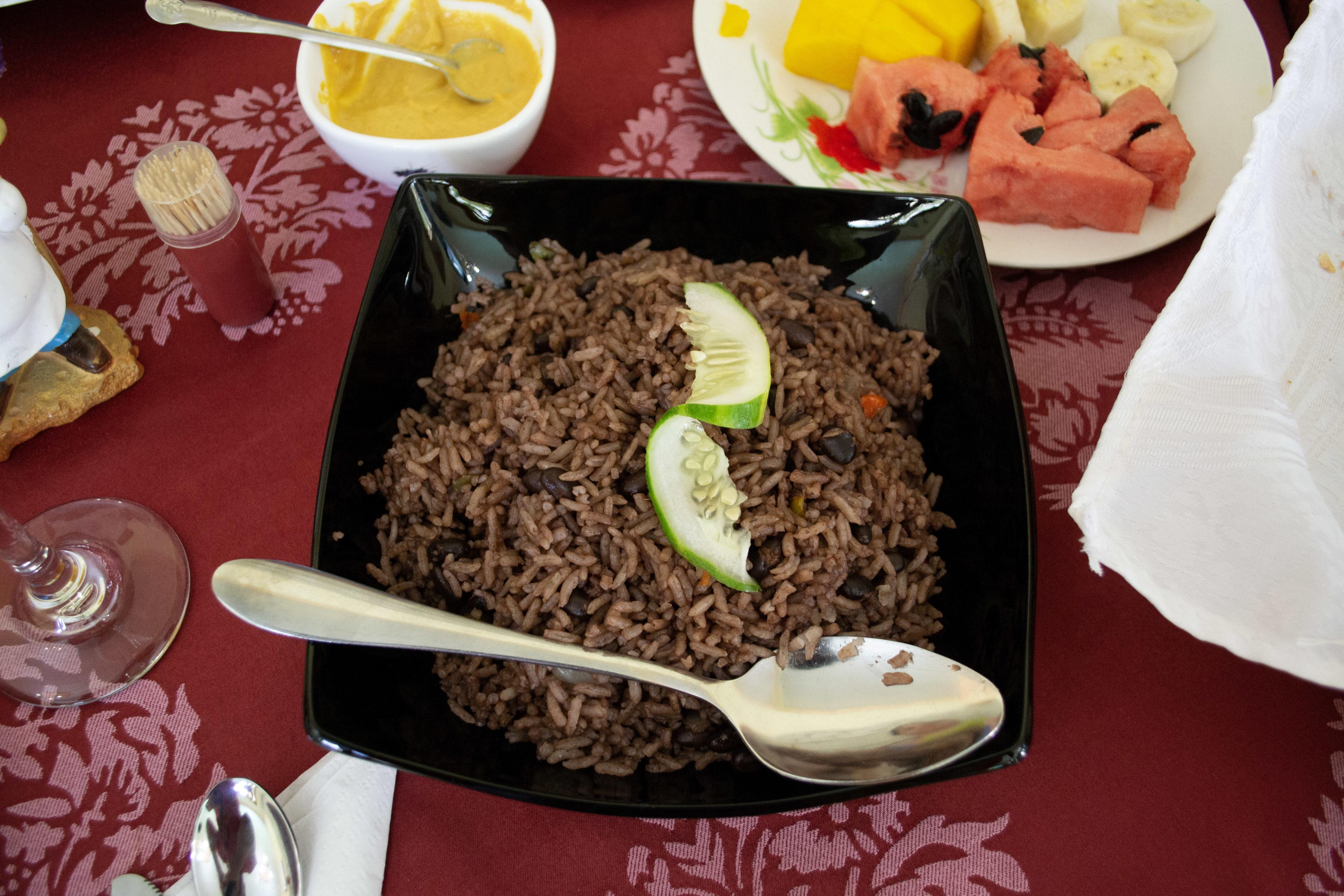 Typischer kubanischer Reis in Kuba