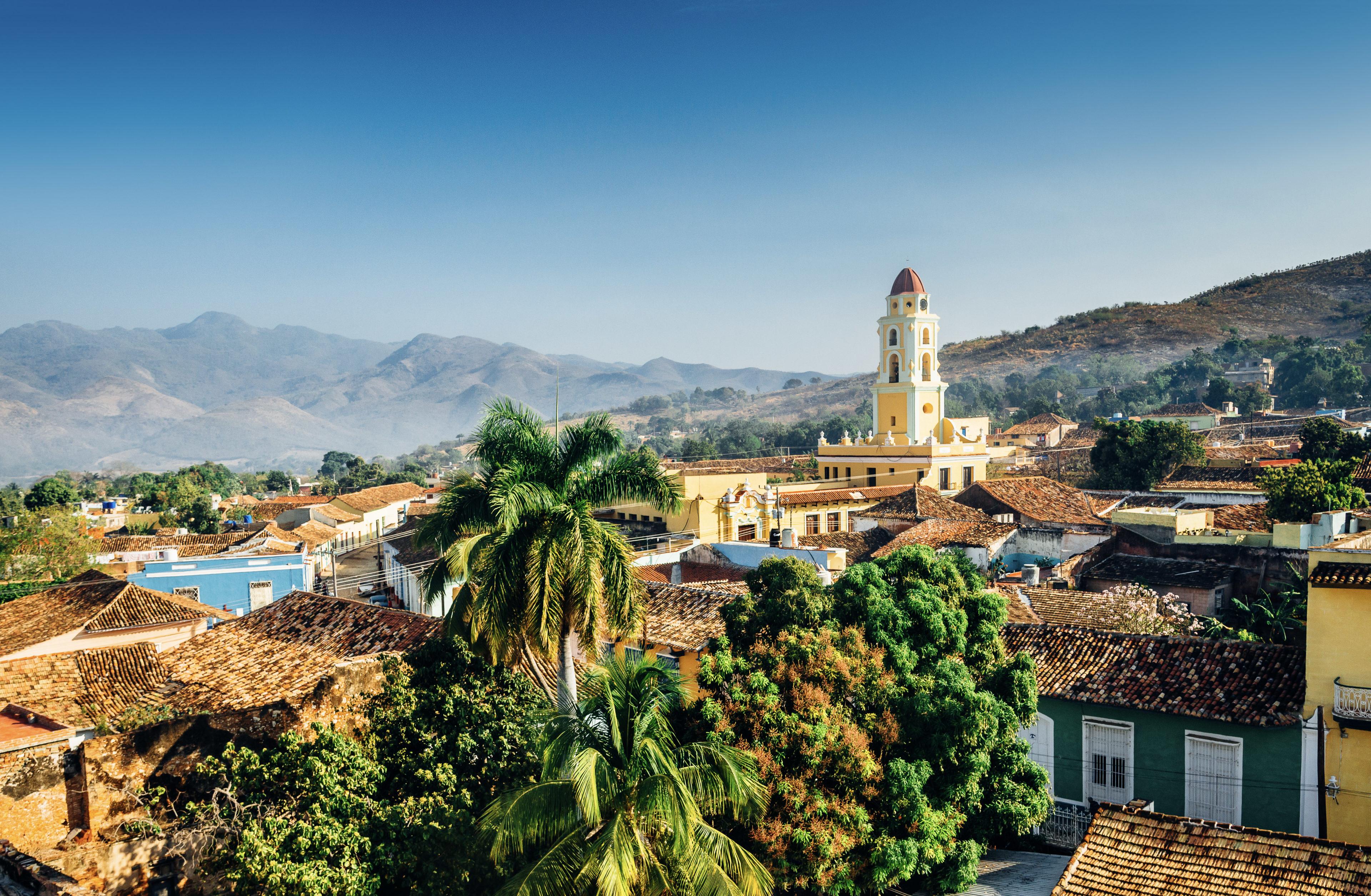 Panorama Blick auf Trinidad
