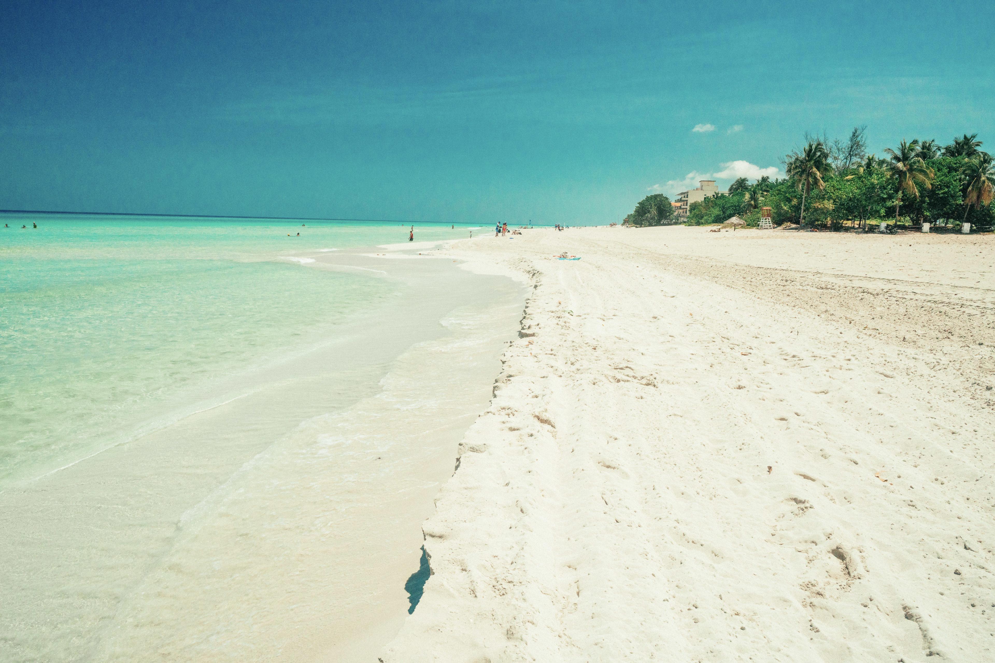 Leerer Strand in Varadero