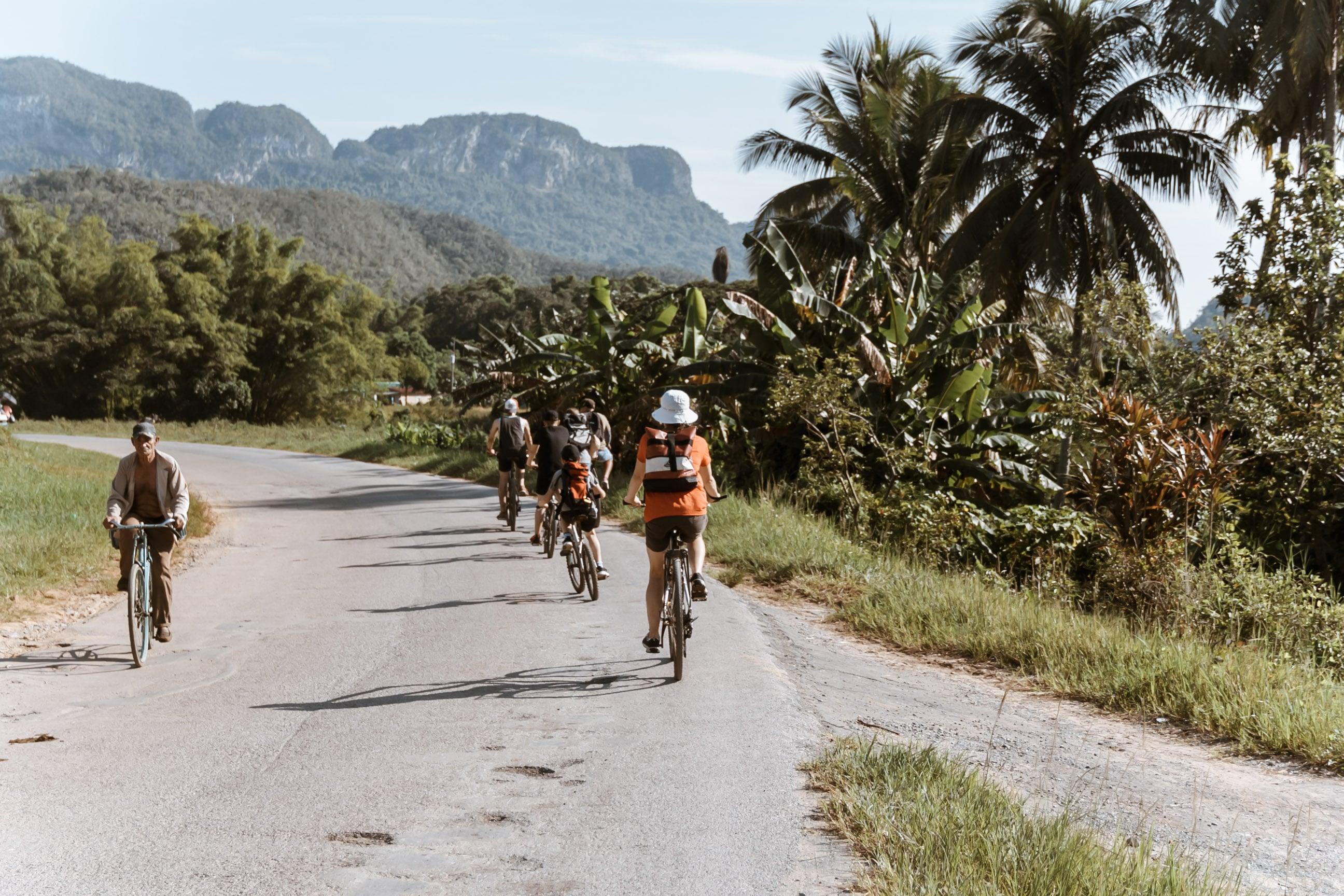Fahrradtour durch Viñales