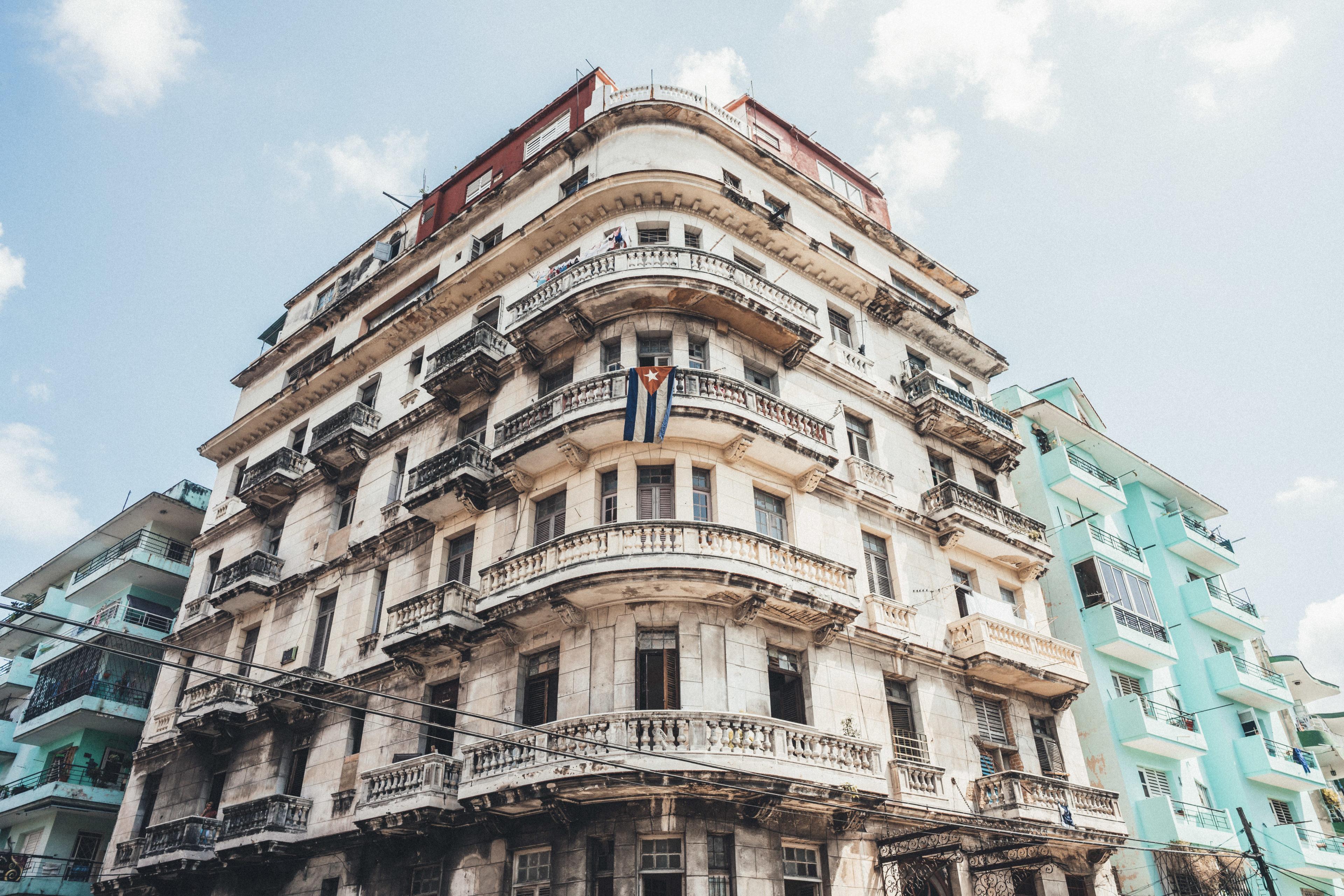 Gebäude in Havanna