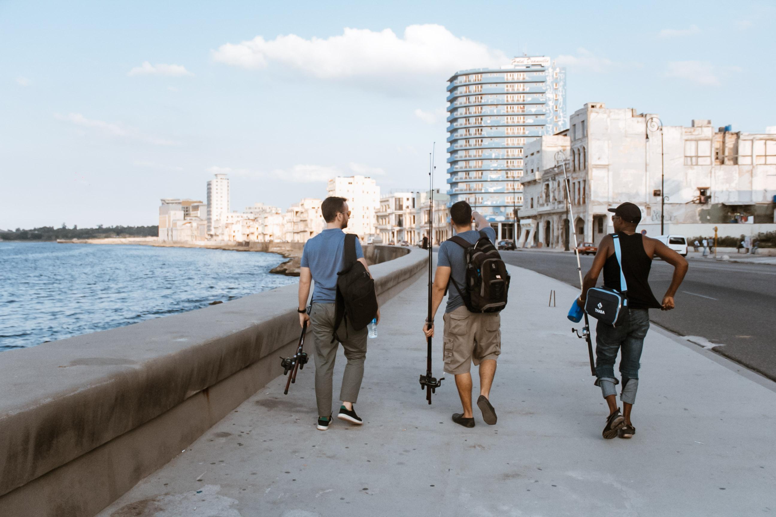 Mit Locals in Havanna angeln gehen