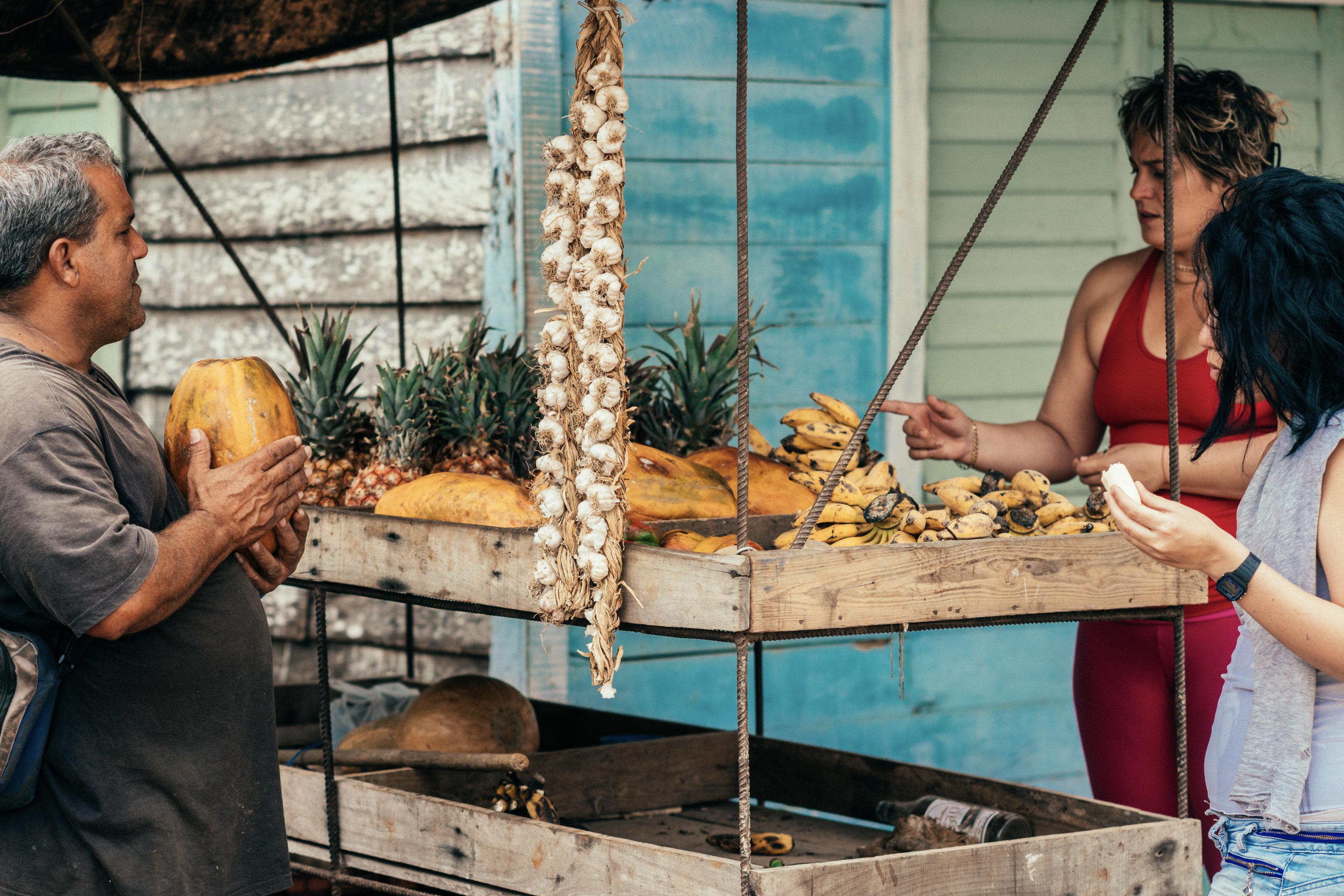 Wochenmarkt in Kuba