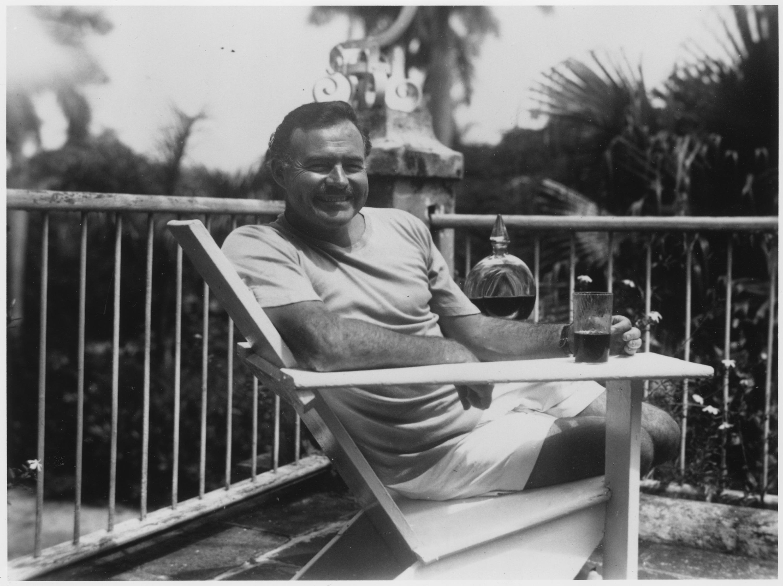 Foto von Ernest Hemingway