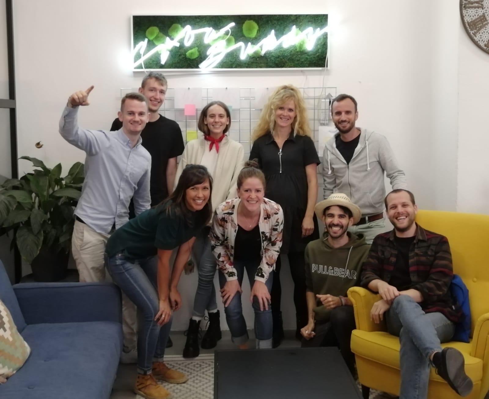 Das Cuba Buddy Team zusammen